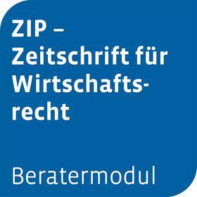 Beratermodul ZIP - Zeitschrift für Wirtschaftsrecht | Datenbank | sack.de
