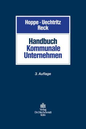 Uechtritz / Reck   Handbuch Kommunale Unternehmen   Buch   sack.de