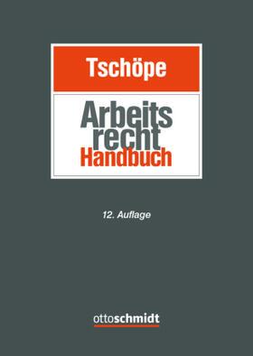 Tschöpe / Tschöpe   Arbeitsrecht Handbuch   Buch   sack.de