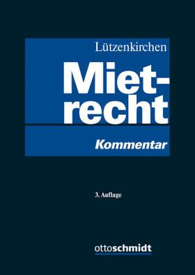 Lützenkirchen | Mietrecht | Buch | sack.de