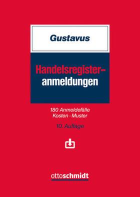 Gustavus | Handelsregister-Anmeldungen | Buch | sack.de