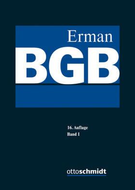 Erman   BGB. 2 Bände   Buch   sack.de