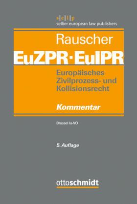 Rauscher | EuZPR/EuIPR | Buch | sack.de