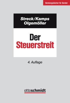 Streck / Kamps / Olgemöller   Der Steuerstreit   Buch   sack.de
