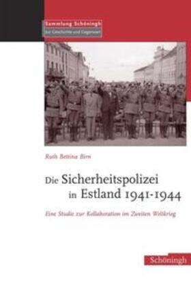 Birn | Die Sicherheitspolizei in Estland 1941-1944 | Buch | sack.de