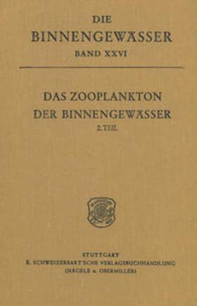Kiefer / Fryer | Das Zooplankton der Binnengewässer, 2. Teil | Buch | sack.de