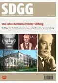 Ehrmann / Röhling |  100 Jahre Hermann Credner-Stiftung der Deutschen Gesellschaft für Geowissenschaften | Buch |  Sack Fachmedien