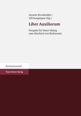 Brockmöller / Domgörgen | Liber Auxiliorum | Buch | sack.de