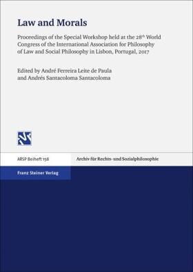 Ferreira Leite de Paula / Santacoloma Santacoloma | Law and Morals | Buch | sack.de