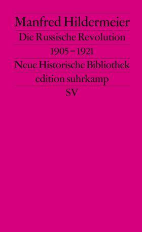 Hildermeier / Wehler | Die russische Revolution 1905-1921 | Buch | sack.de