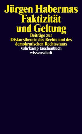Habermas | Faktizität und Geltung | Buch | sack.de