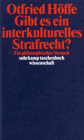 Höffe | Gibt es ein interkulturelles Strafrecht? | Buch | sack.de