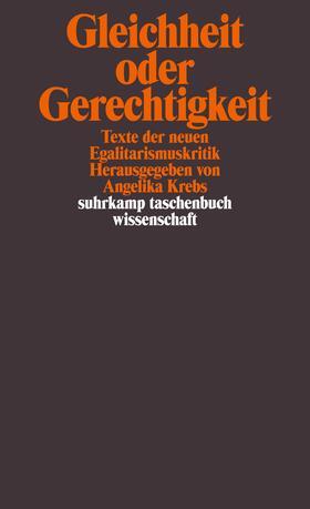 Krebs | Gleichheit oder Gerechtigkeit | Buch | sack.de