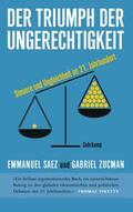 Saez / Zucman    Der Triumph der Ungerechtigkeit   Buch    Sack Fachmedien
