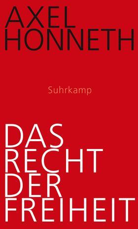 Honneth | Das Recht der Freiheit | Buch | sack.de