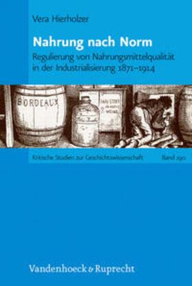 Hierholzer | Nahrung nach Norm | Buch | Sack Fachmedien