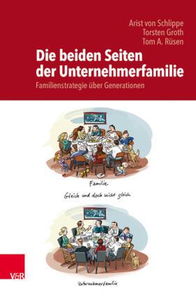 von Schlippe / Groth / Rüsen | Die beiden Seiten der Unternehmerfamilie | Buch | sack.de