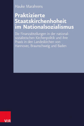 Marahrens | Praktizierte Staatskirchenhoheit im Nationalsozialismus | Buch | sack.de