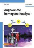 Behr |  Angewandte homogene Katalyse | Buch |  Sack Fachmedien
