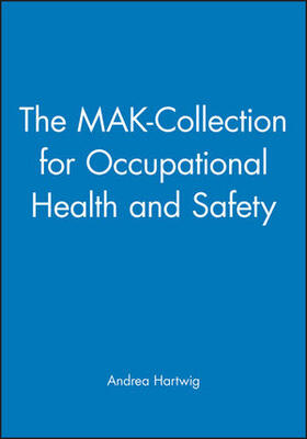 Hartwig | The MAK-Collection for Occupational Health and Safety | Buch | sack.de