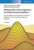 Ansorge / Oberle / Rothe Mathematik in den Ingenieur- und Naturwissenschaften 1 | Sack Fachmedien