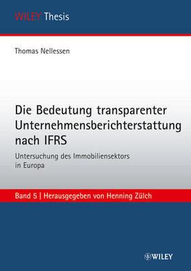 Nellessen   Die Bedeutung transparenter Unternehmensberichterstattung nach IFRS   Buch   sack.de