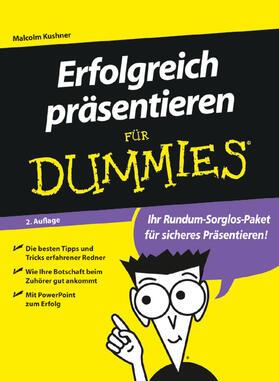 Kushner   Erfolgreich präsentieren für Dummies   Buch   sack.de