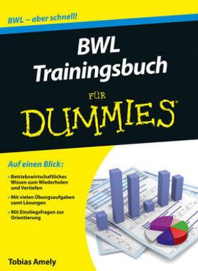 Amely   BWL Trainingsbuch für Dummies   Buch   sack.de