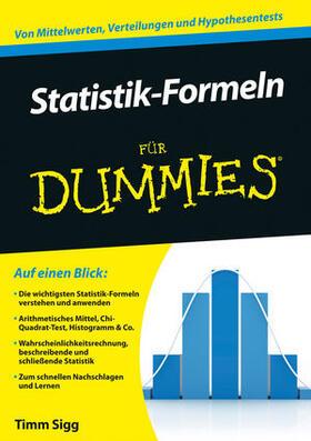 Sigg   Statistik-Formeln für Dummies   Buch   sack.de