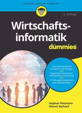 Thesmann / Burkard | Wirtschaftsinformatik für Dummies | Buch | sack.de