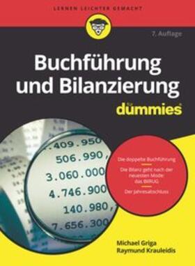 Griga / Krauleidis | Buchführung und Bilanzierung für Dummies | Buch | Sack Fachmedien