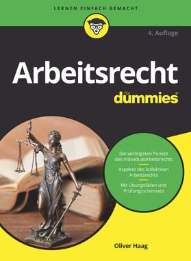 Haag | Arbeitsrecht für Dummies | Buch | sack.de
