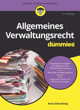 Scherzberg | Allgemeines Verwaltungsrecht für Dummies | Buch | sack.de