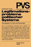 Kielmansegg |  Legitimationsprobleme politischer Systeme | Buch |  Sack Fachmedien