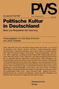 Schissler / Berg-Schlosser |  Politische Kultur in Deutschland | Buch |  Sack Fachmedien