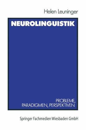 Leuninger   Neurolinguistik   Buch   sack.de