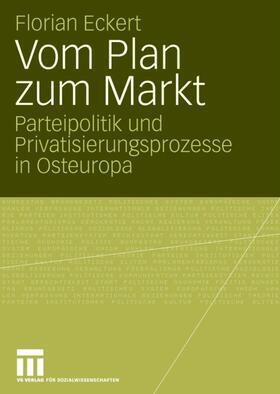 Eckert | Vom Plan zum Markt | Buch | sack.de