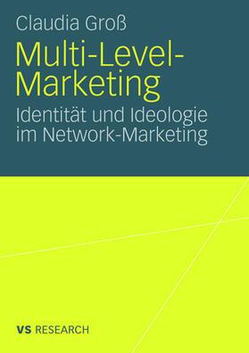 Groß | Multi-Level-Marketing | Buch | sack.de