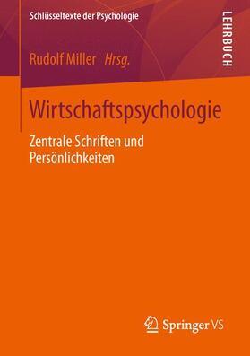 Miller | Wirtschaftspsychologie | Buch | sack.de