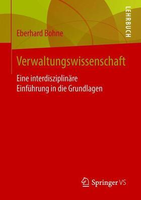 Bohne | Verwaltungswissenschaft | Buch