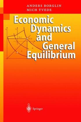 Borglin | Economic Dynamics and General Equilibrium | Buch | sack.de
