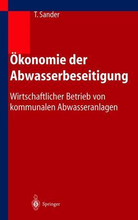 Sander   Ökonomie der Abwasserbeseitigung   Buch   sack.de