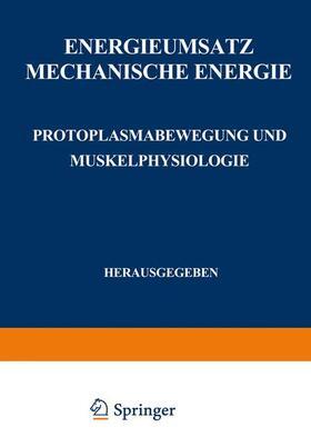 Alverdes / Deuticke / Embden   Energieumsatz   Buch   sack.de