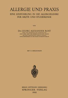Rost   Allergie und Praxis   Buch   sack.de