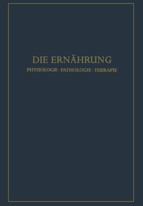 Lang / Schoen | Die Ernährung | Buch | sack.de