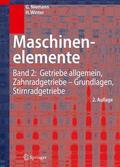 Winter / Niemann    Maschinenelemente   Buch    Sack Fachmedien