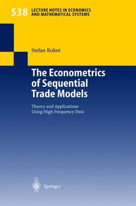 Kokot | The Econometrics of Sequential Trade Models | Buch | sack.de