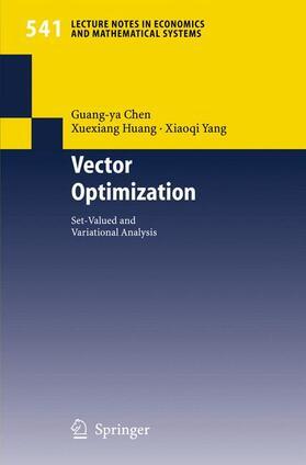 Chen / Huang / Yang | Vector Optimization | Buch | sack.de