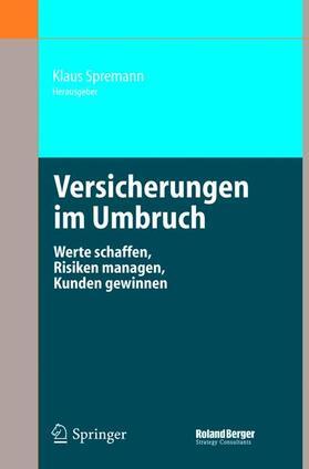 Spremann | Versicherungen im Umbruch | Buch | sack.de