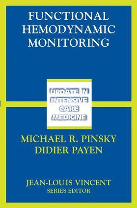Pinsky / Payen | Functional Hemodynamic Monitoring | Buch | sack.de